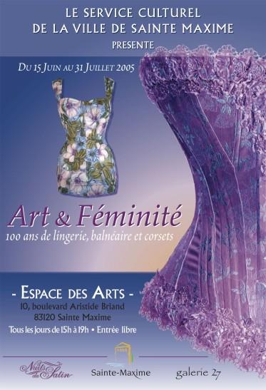Affiche Art & Féminité
