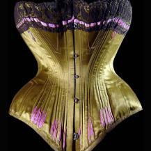 1890-corset-soie-vert