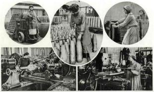 17 femmes au travail 1916