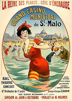 Affiche 1900 St Malo