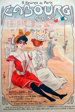 Affiche 1900Cabourg