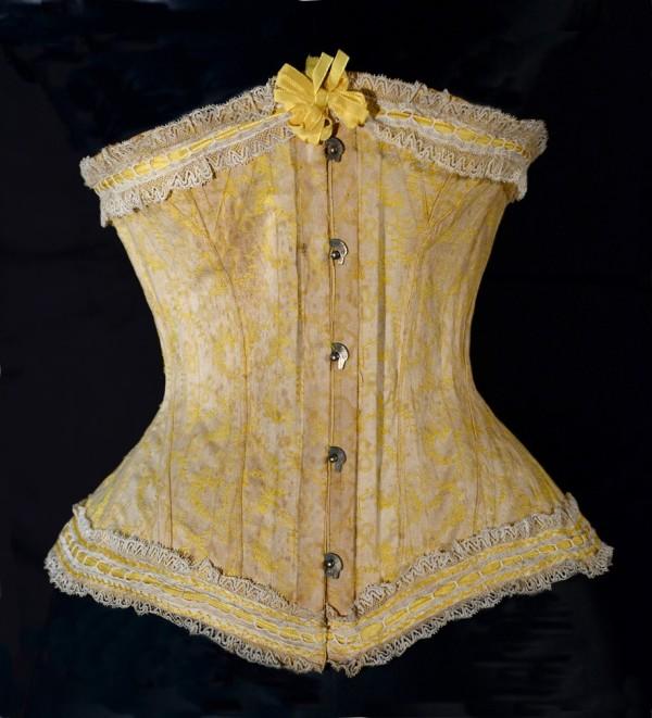 Corset 19ème siècle-corset- vintage-nuits de satin