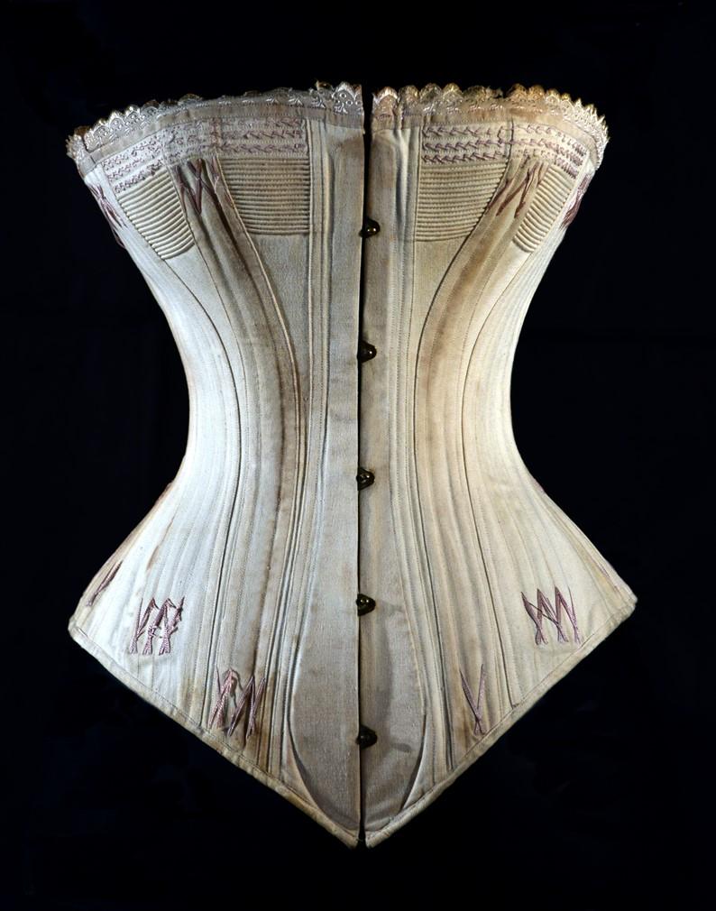 corset busc cuillère 1875-corset spoon busq- corset