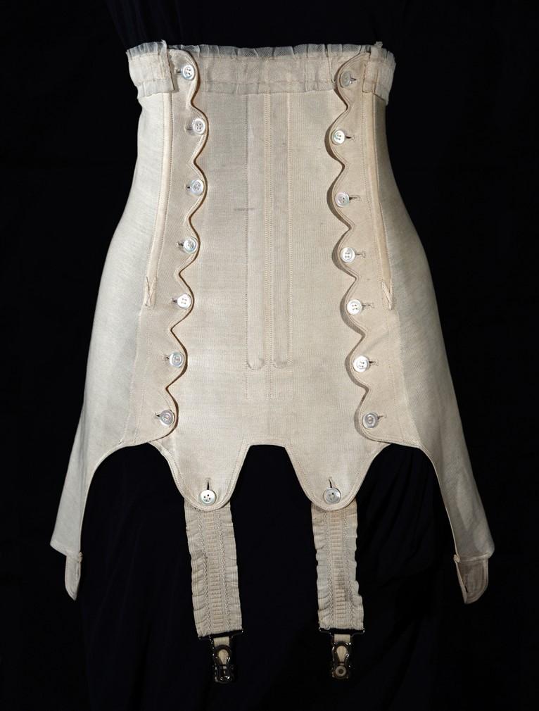 corset 1915 - corset d'été
