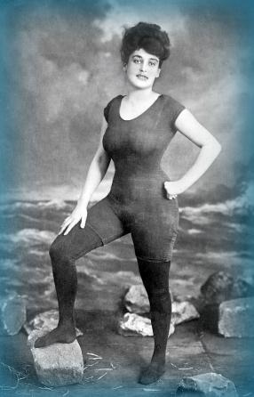 Annette Kellerman 1907 bibliothèque du congres USA