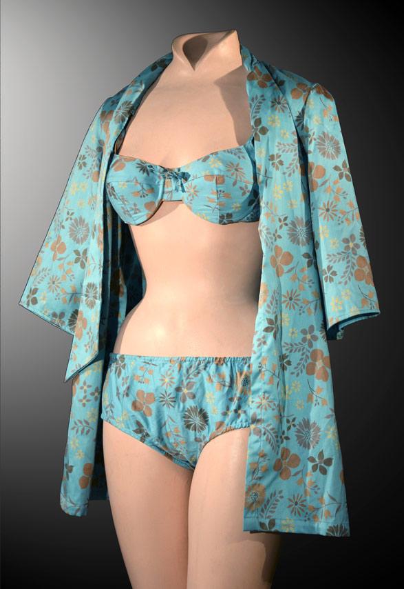 Bikini Swimsuit vintage Collection Nuits de Satin