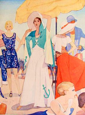 1930s-dessin-pyjama