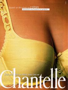 1996-CHANTELLE-le-soutien-gorge-COTON