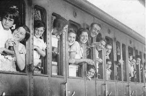les trains du bonheur 1936