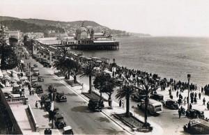 Nice Promenade et le Casino de la Jetée dans les années 30