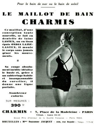 Maillot de Bain 1936