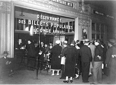 70 ans Congés payés 1936