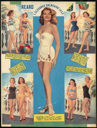 1953 Avril Cinémonde- Collection Nuits de Satin