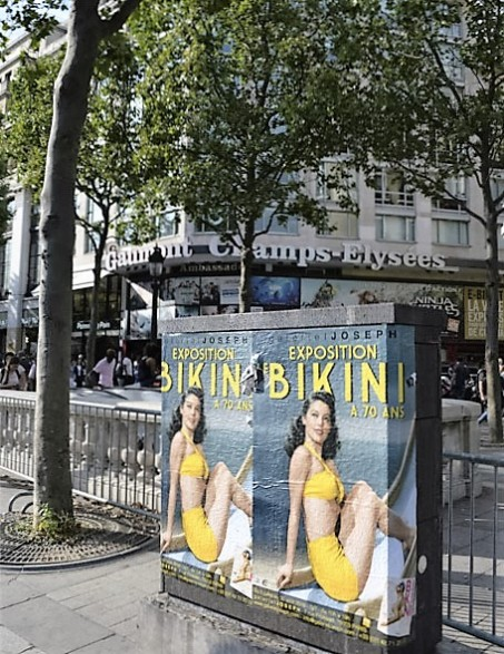 3 BIKINI Champs Elysées-Galerie-Joseph- Nuits de Satin