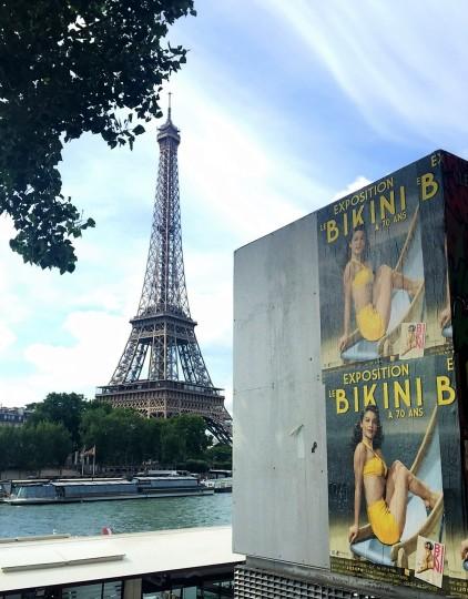 3 Bikini Tour Eiffel Nuits de Satin