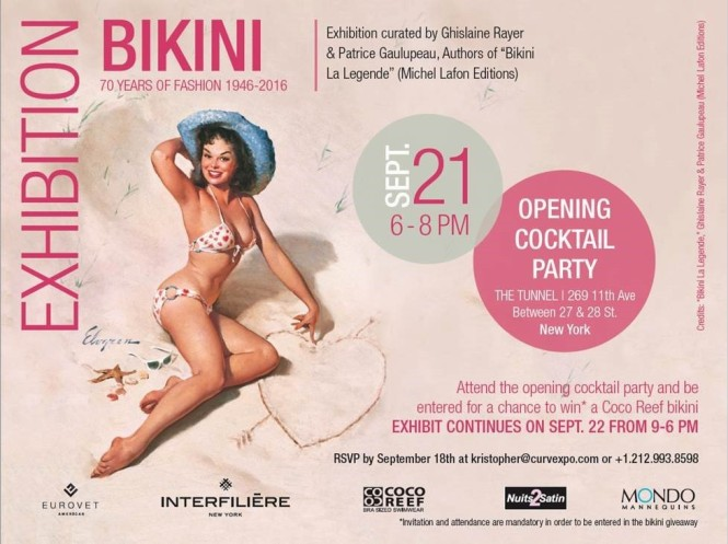 Exposition Bikini Nuits de Satin à New-York