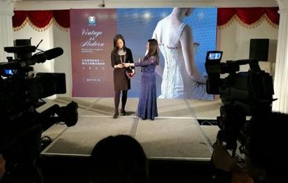 Exposition lingerie corset Shanghai Nuits de Satin