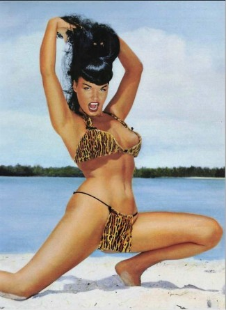 PIN-UP Betty Page swimsuit 50s