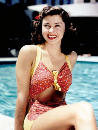 PIN-UP Esther Williams maillot de bain swimsuit 1950
