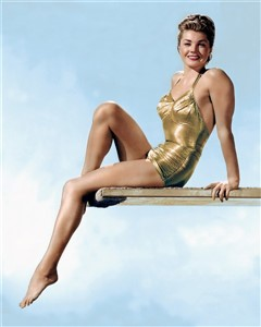 PIN-UP Esther Williams maillot de bain swimsuit 1950s' (240 x 300)