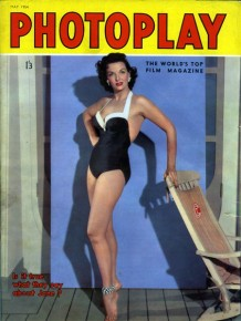 PIN-UP exposition maillot de bain 1950 Jane Russel Photoplay