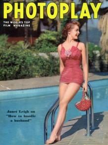 PIN-UP exposition maillot de bain 1950 Janet Leigh Photoplay