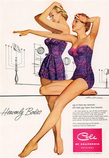 pin up exposition maillot de bain ad cole lingerie. Black Bedroom Furniture Sets. Home Design Ideas