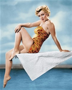 PIN-UP Marilyn Monroe maillot de bain swimsuit 50 (240 x 300)