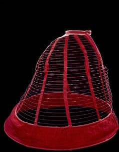 1860-1865 Empress cage crinoline UK