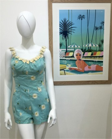 8 Exposition Pin-up Catalina swimsuit et Monsieur Z Copyright Ghislaine Rayer
