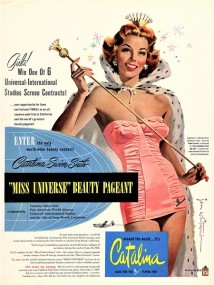 PIN-UP exposition maillot de bain Ad Catalina