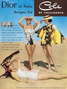 PIN-UP exposition maillot de bain Ad Dior