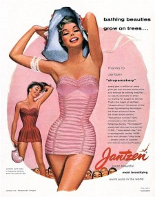 PIN-UP exposition maillot de bain Ad Jantzen