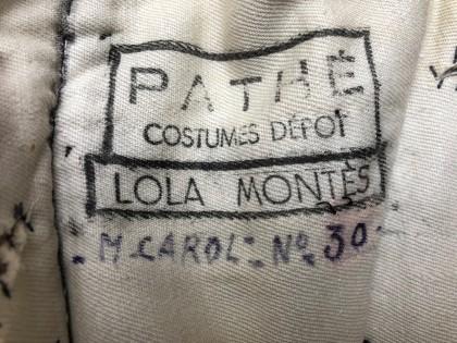 Lola Montès robe Martine Carol logo