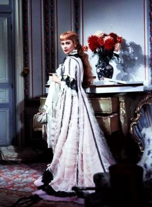 Martine Carol dans le film NANA en 1955-2