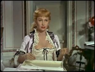 Martine Carol dans le film NANA en 1955-3