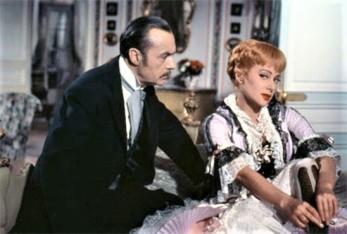 Martine Carol dans le film NANA en 1955-4