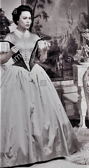 LOLA MONTEZ Szene mit Lola Montez (MARTINE CAROL) und Ludwig I. von Bayern (ADOLF WOHLBRÜCK aka ANTON WALBROOK) 30095-0-54370 , 08ACKLola2