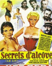 Secrets D'alcôve - Film Jean Delannoy 1953 - Sketch Le Lit De La Pompadour affiche
