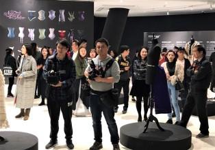 Journalistes Exposition Corsets Chongquinq