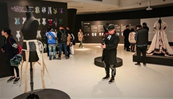 Visiteurs Exposition Corsets Chongquinq 1