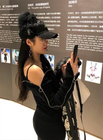 Visiteurs Exposition Corsets Chongquinq 5