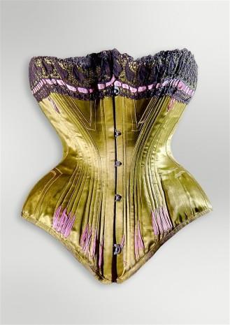 corset 1890 - nuits de satin